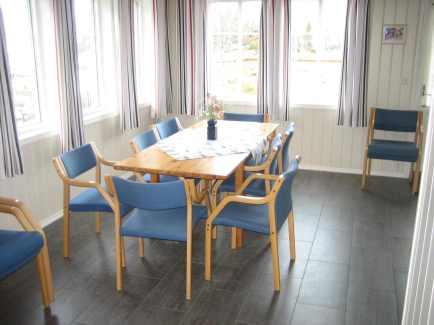 Spisegruppe med plass til 8-10 personer